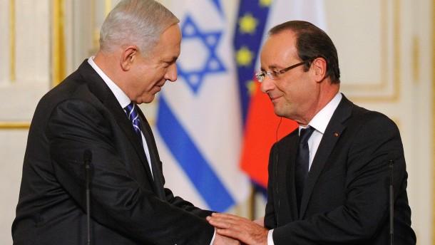 Israel und Frankreich fordern schärfere Iran-Sanktionen