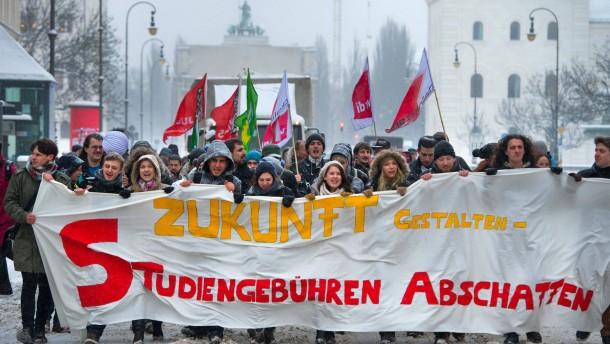 Auch Bayern schafft die Studiengebühren ab