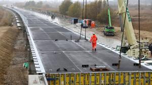 Umweltschützer verzögern Autobahnbau