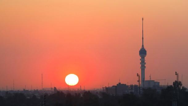 Rakete nahe amerikanischer Botschaft in Bagdad eingeschlagen