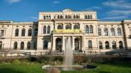 """Frankfurter Zoo-Gesellschaftshaus: Hier will bald der neue Jugendtheater-Verein """"Paradiesvögel"""" auftreten."""