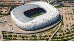 Fußball-EM-Spiele in München vor 14.000 Zuschauern