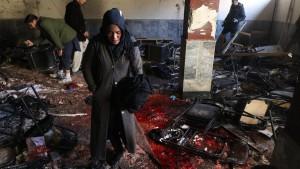 Zehntausend zivile Kriegsopfer 2017 in Afghanistan
