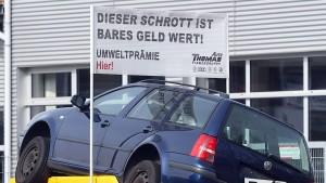 VW will bundesweite Tauschprämie für ältere Diesel anbieten