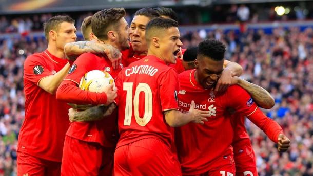 Liverpool steht im Endspiel