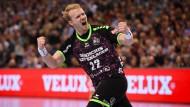 Flensburg im Handball-Viertelfinale