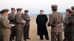 """Nordkorea testet offenbar neue """"Hightech Waffe"""""""