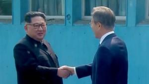 Kim überquert die Grenze nach Südkorea