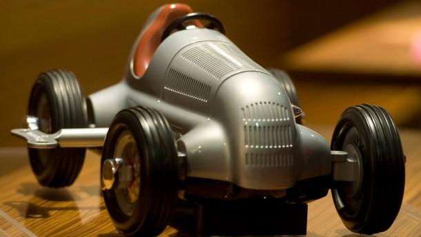 Silberpfeil-Modell von Schuco