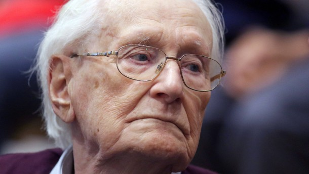 Ex-SS-Mann Gröning soll Haftstrafe antreten