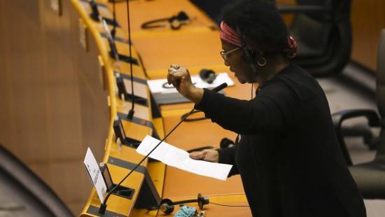 Deutsche EU-Abgeordnete Opfer von Polizeigewalt geworden