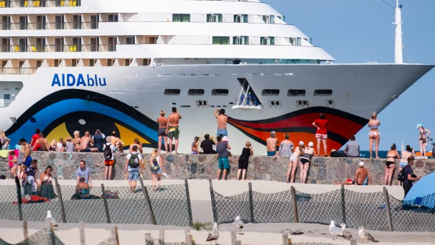 Zehn Corona-Fälle unter Aida-Crewmitgliedern