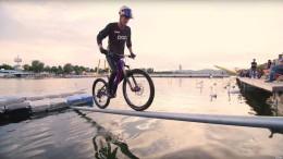 Diese Bike-Stunts sind fast schon Kunst