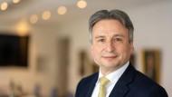 Gerhard Wiesheu, Vorstandsmitglied der Metzler Bank und Präsident der Frankfurt Main Finance.