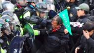 Tote bei Protesten gegen Amtsenthebung