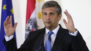 Österreichs Finanzminister Spindelegger tritt zurück