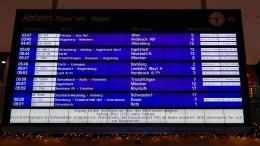 Deutsche Bahn stellt bundesweit Fernverkehr ein
