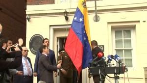 Opposition übernimmt Konsulat in New York