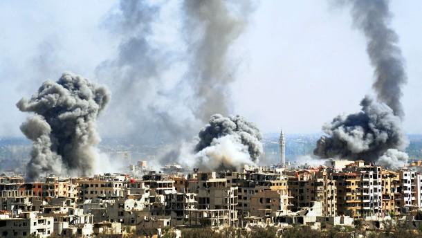 Syrische Armee verkündet Kontrolle über Ost-Ghouta