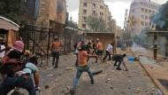 Ausschreitungen am Samstag in Beirut