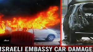 Attentatsversuche auf israelische Diplomaten