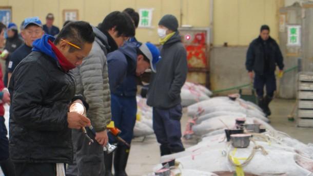 Verwirrung um Tokios größten Fischmarkt hat ein Ende