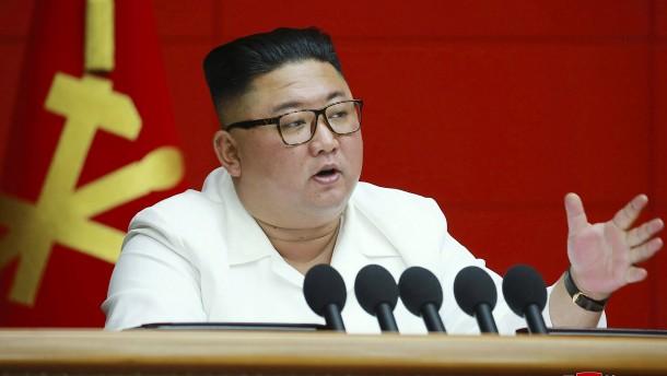 Nordkorea gesteht wirtschaftliche Schwierigkeiten ein