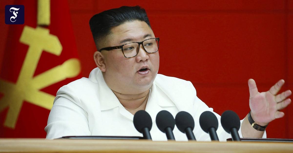Rede von Kim Jong-un: Nordkorea gesteht wirtschaftliche Schwierigkeiten ein