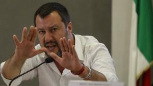Salvini wirft Frankreich Heuchelei vor