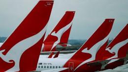 Qantas streicht 90 Prozent der internationalen Flüge