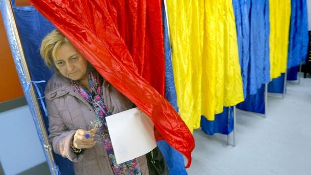 Präsidentenwahl in Rumänien endet chaotisch