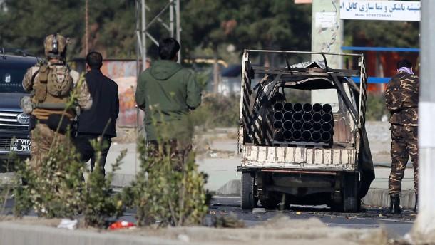 Tote und Verletzte bei Anschlag in Kabul