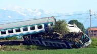Tote bei Zugunglück in Italien