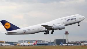 Lufthansa-Kurs steigt trotz Streik