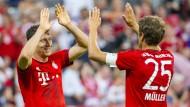 FC Bayern schlägt AC Mailand