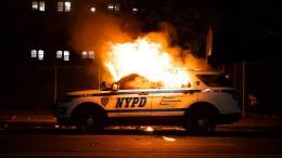 Die Polizei wird der Lage nicht Herr