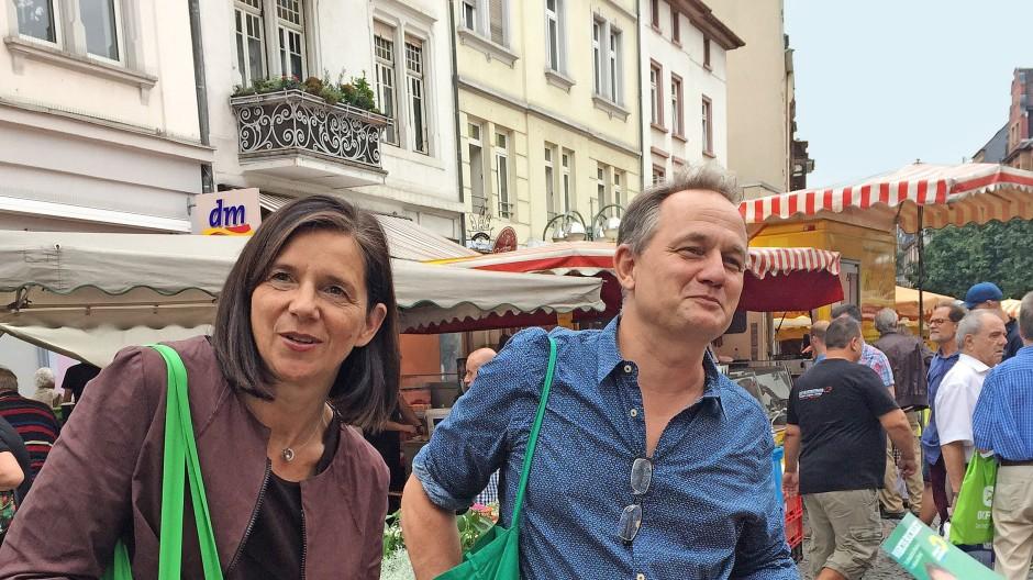 Der Frankfurter Marcus Bocklet will für die Grünen das Direktmandat in Hanau erringen.