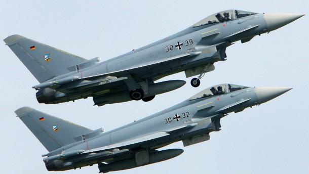 """Deutschland stoppt Abnahme von """"Eurofighter""""-Flugzeugen"""