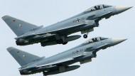 Deutschland stoppt Abnahme von Eurofighter-Flugzeugen