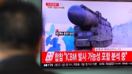 Nordkorea feuert mehrere Raketen ab