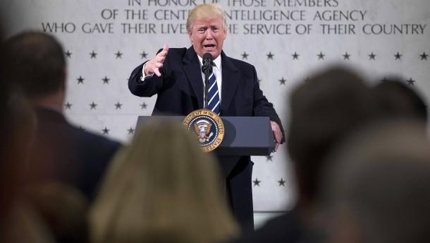 Trump spielt mit der Folter