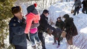 Kanada verstärkt Polizei an der Grenze zu Amerika