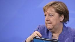 "Merkel: ""Corona-Impfwettlauf mit Delta-Variante"""