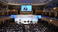Mateusz Morawiecki, Ministerpräsident von Polen, spricht bei der 54. Münchner Sicherheitskonferenz.