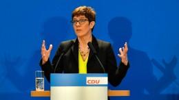 """""""Meine CDU ist eine großartige Partei"""""""
