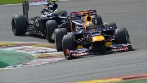 Vettel wieder im Rennen