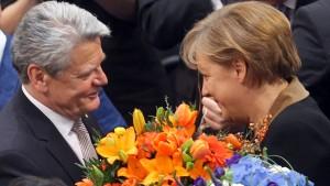 Joachim Gauck zum Bundespräsidenten gewählt