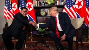 Trump und Kim einigen sich auf Vereinbarung