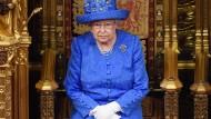 Eine Mahnung ist noch kein Machtwort: Die Queen wendete sich unter der Woche an die britischen Politiker.