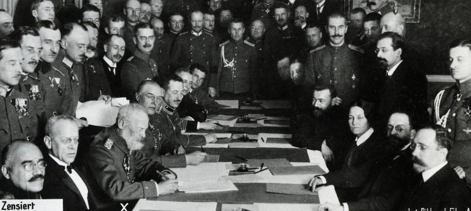 Waffenstillstand Erster Weltkrieg